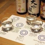 日本酒フェア開催! 利き酒セットは3種の日本酒+おつまみがセットになった地酒好きにはたまらないセット