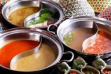 チェディルアンスタイルの,選べるヘルシー鍋。