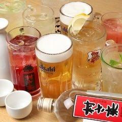 飲み放題は種類豊富な約100種類★ 生ビールも当然入ってます!