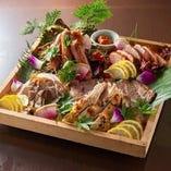 【新鮮食材】 鮮度抜群の海鮮料理の数々をご堪能ください。