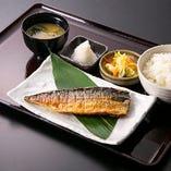 金華鯖塩麴漬け焼き定食
