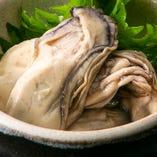 東北、石巻直送の珍味もご提供!『ブランド牡蠣潮煮』は絶品