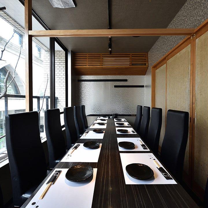 人気の完全個室は12名様まで対応可能