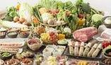 人気の食べ放題、食べられるお肉の種類で金額が変わっていきます。2680円(税抜き価格)~ご用意しております。