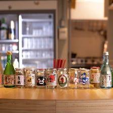 日本各地のワンカップが楽しめる
