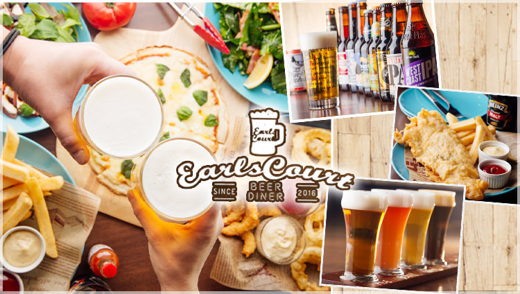 BEER DINER Earls Court アールズコート