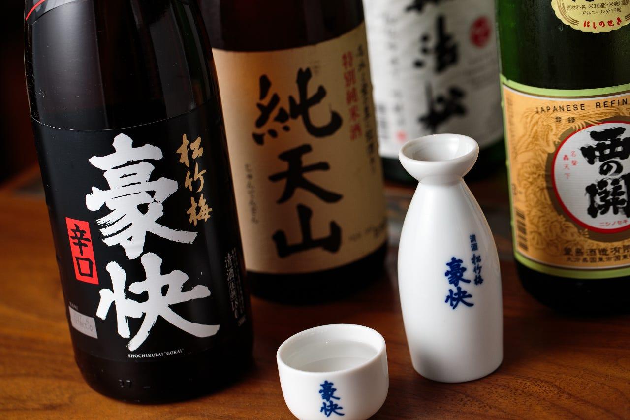 九州地酒・焼酎も多数ご用意しております。
