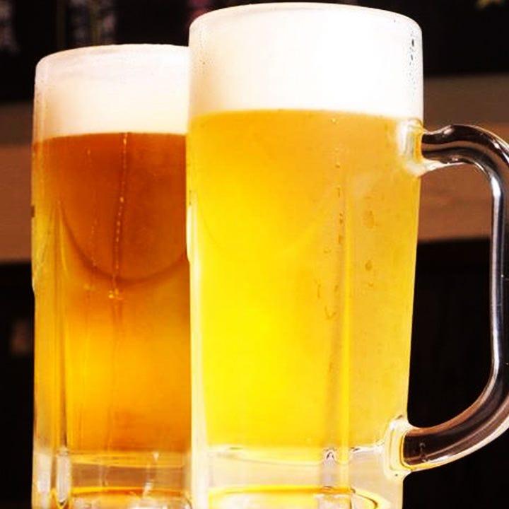 生ビール1杯199円!サッポロビールを使用しております!