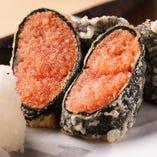明太子と海苔の天ぷら