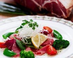 イタリアパルマ産生ハムサラダ