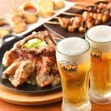 名物料理×生ビール!相性抜群◎