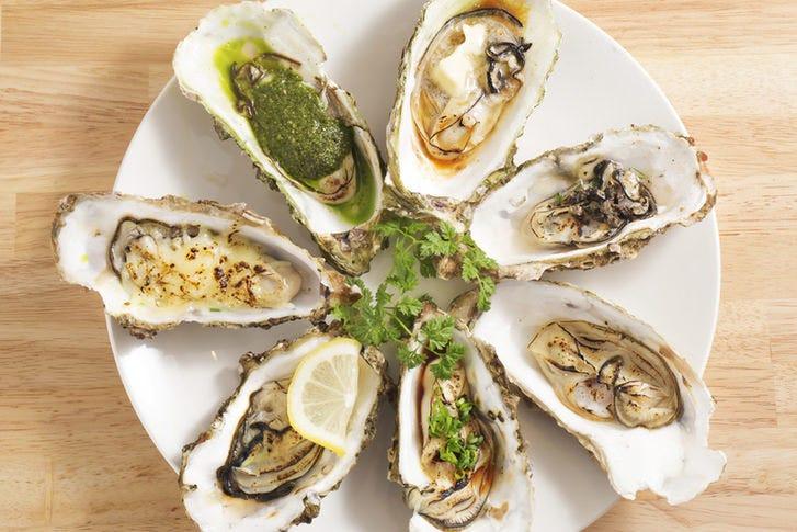 【牡蠣中心に貝料理多数】
