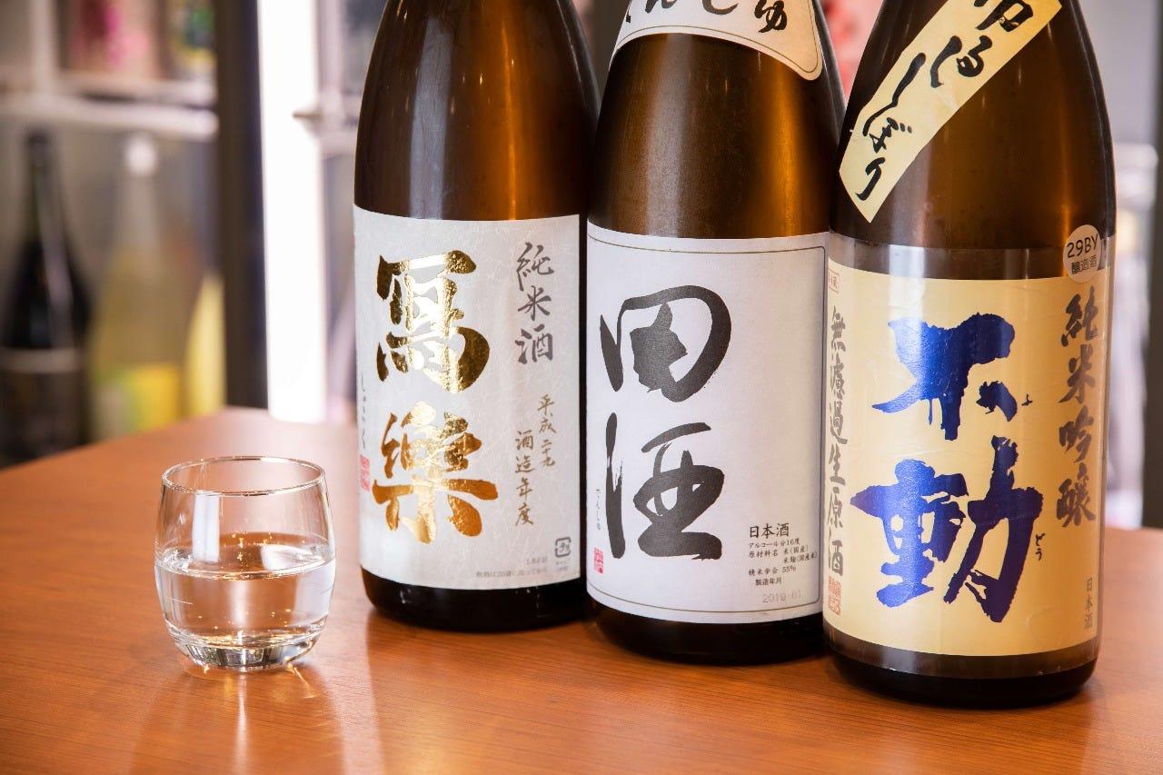 全国からセレクトした日本酒