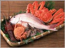 産地直送の新鮮な魚介!