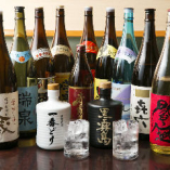 飲み放題欲張りプランなら、生ビールや様々な焼酎が飲み放題!