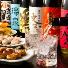 鶏料理と合う全国の選りすぐり銘酒