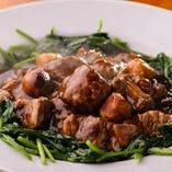 ゲンコツ肉の黒酢スブタ