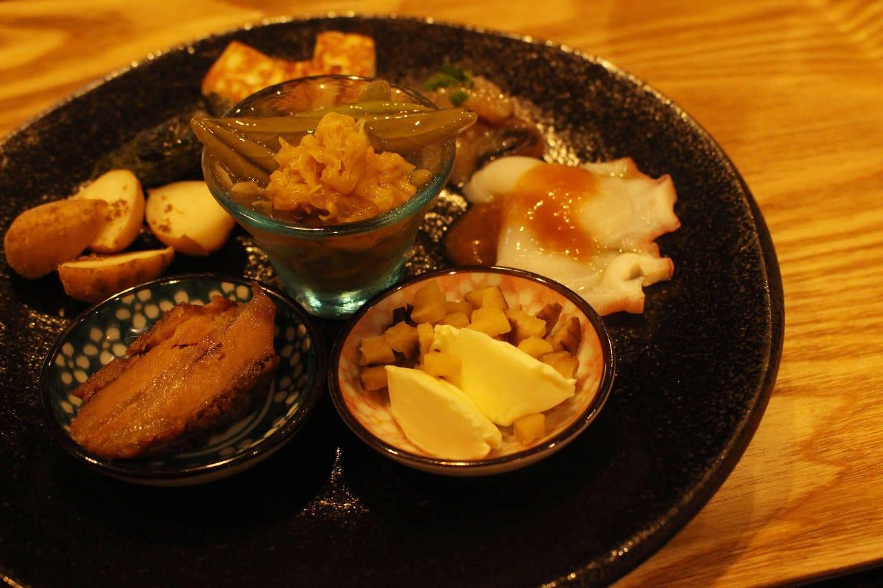 前菜盛り合わせ:東北にはまだまだ、美味しい食べ物があります♪