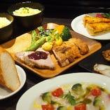 □忘年会限定 食材を活かす満足コース飲み放題付6品4,000円□