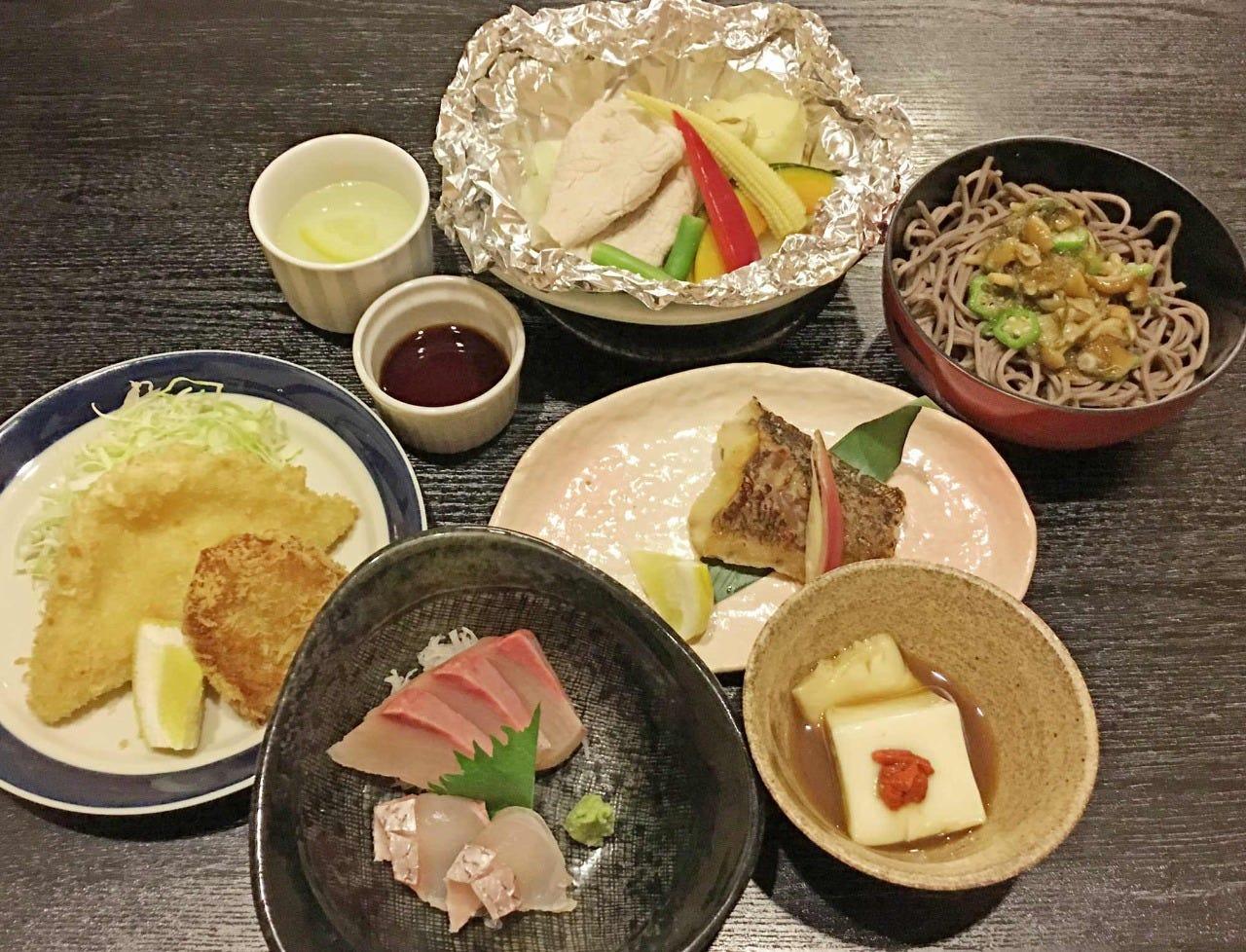 《お料理のみ》ひよこコース<全7品>3,300円(税込)