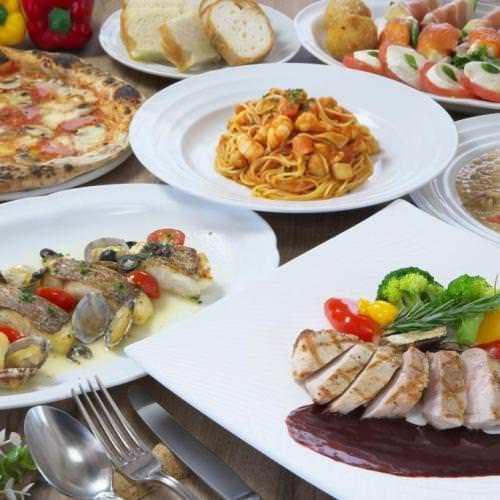 歓迎会、送別会も本格イタリアン!