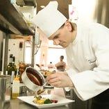 現地の調理法で作る本格イタリアンをお楽しみいただけます