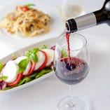 イタリアワインとのマリアージュをお楽しみください