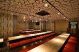 広々店内!3階は最大100名様までの宴会可能!2階は60名様まで!