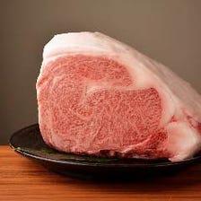■川岸牧場産神戸ビーフを焼肉で。