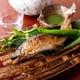 味付け、盛り付けはもとより器にもこだわった料理の数々。