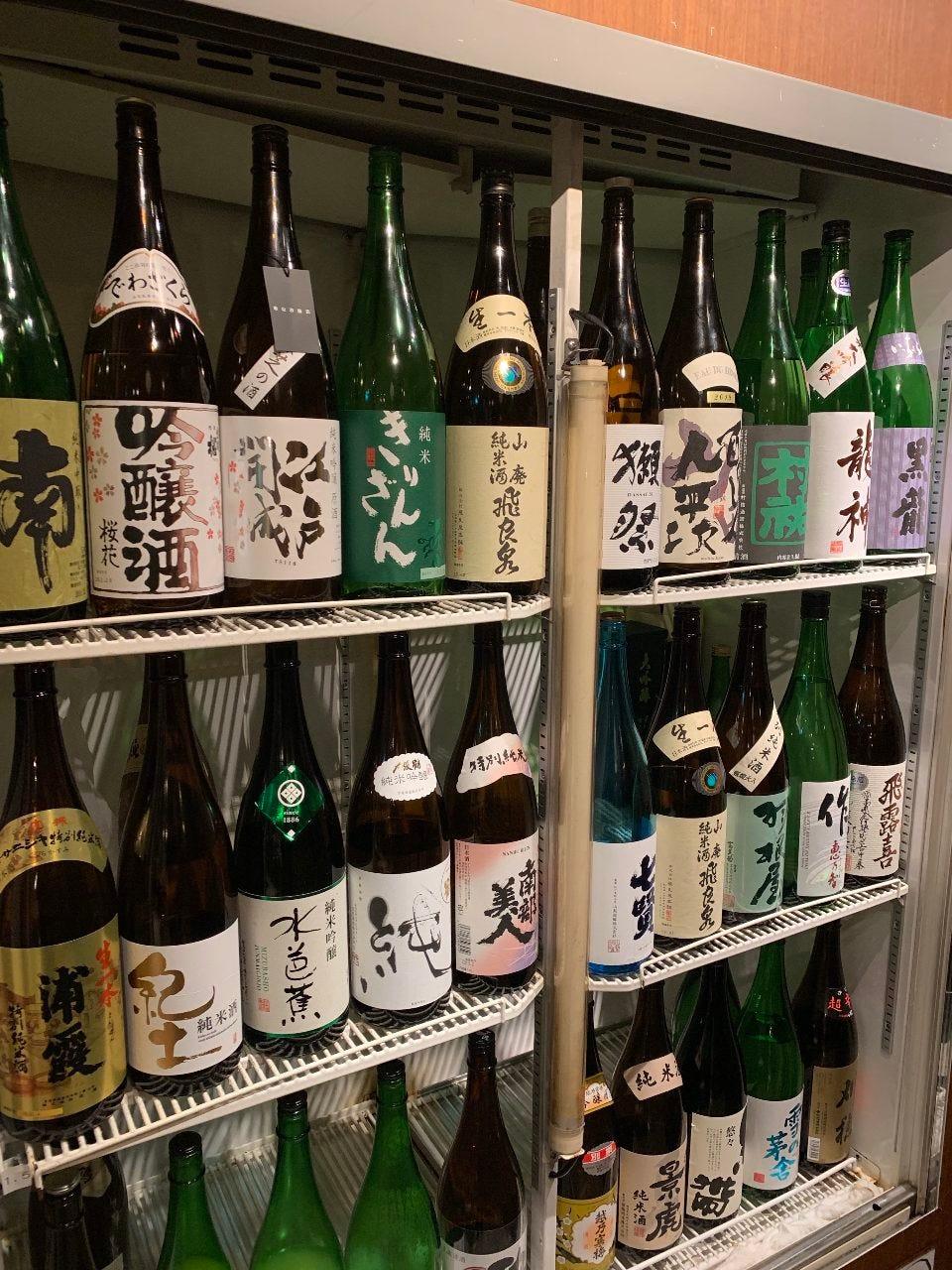 【日本酒】常時14種以上ご用意♪
