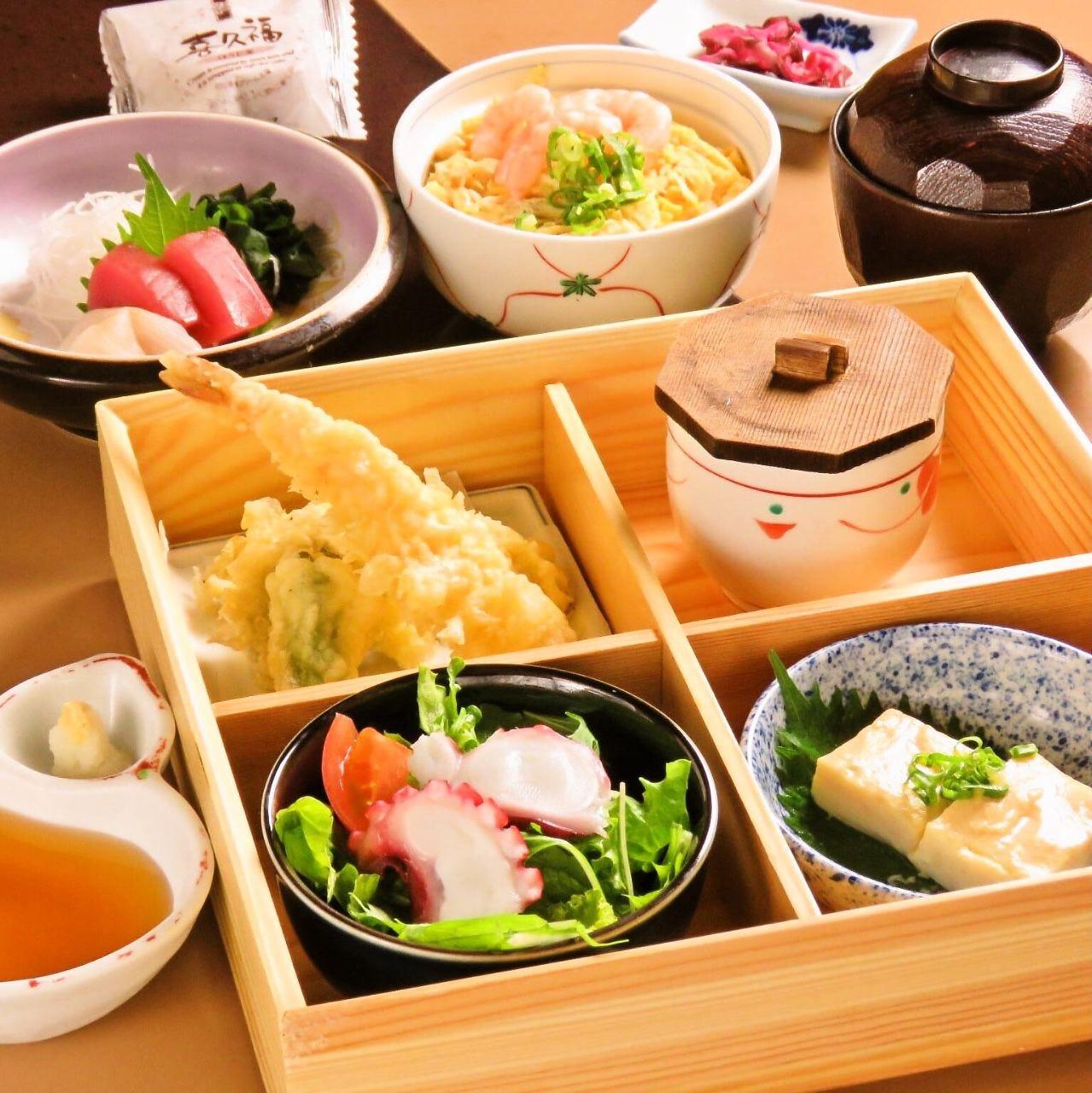【昼膳】旬の味覚盛りだくさん!