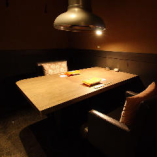 記念日やデートのご利用に最適【《完全個室》テーブル席(最大2名様まで)】