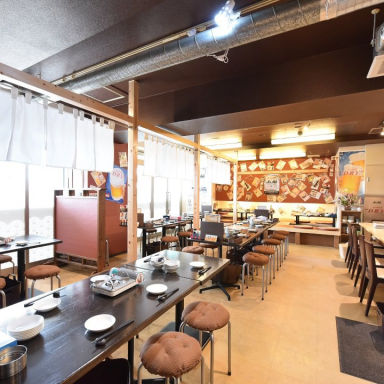九州屋台 九太郎 みらい平店 店内の画像
