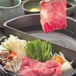 すき焼きとしゃぶしゃぶが一つに 牛禅オリジナルすきしゃぶ鍋