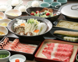 山形豚と牛肉が食べ放題& 飲み放題付き宴会コース4,500円~