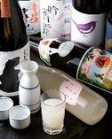 福岡の地酒を中心に、全国の珍しいお酒を提供致しております。あえて固定のお酒は置かず、季節ごとの一期一会のお酒をお楽しみください。