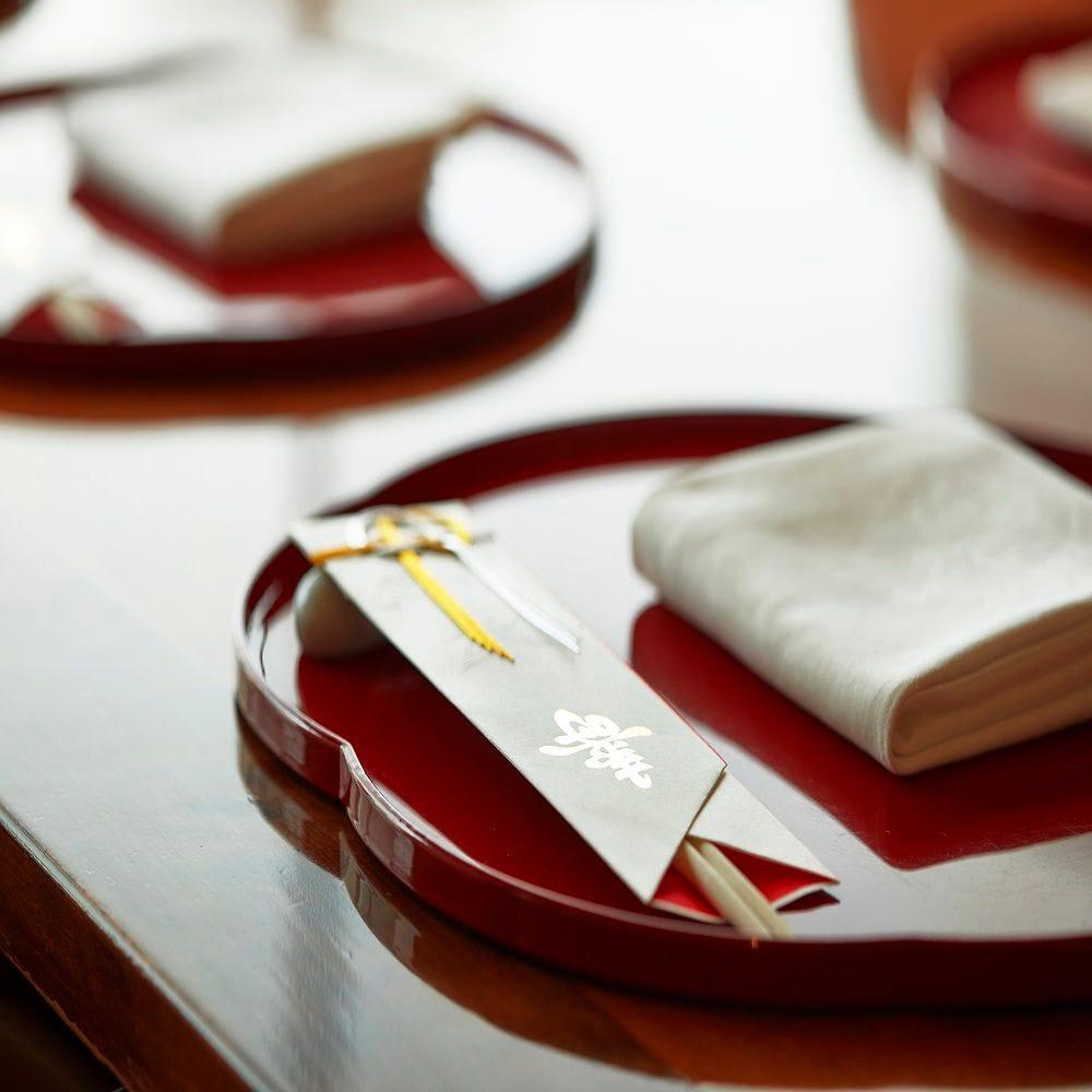 桜湯・祝い箸のご用意を致しております。