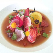 【Dinner】珠玉のモダンフレンチをご堪能!前菜3品・厳選肉や鮮魚のWメイン含む全7品