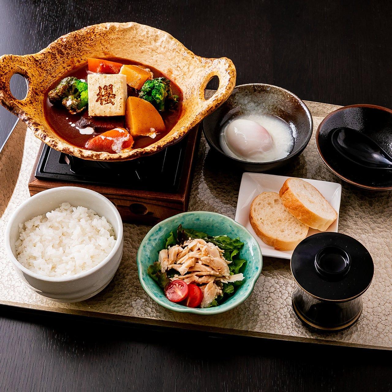 櫻の贅沢お食事メニュー(ランチあり)