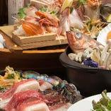 魚も肉も!コース料理は満足度100%!