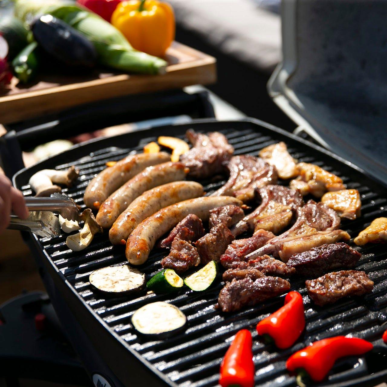 飲み放題付【テラスBBQプラン】牛、ラム、鶏、ソーセージに野菜たっぷり!4種のソースでいただきます♪