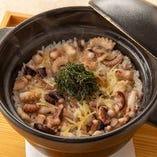 蛸と生姜の土鍋ご飯 ※二人前より承ります