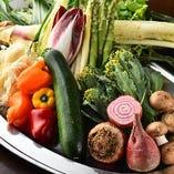 埼玉をはじめ各地から取り寄せる野菜