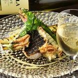 魚料理には白ワインがおすすめ