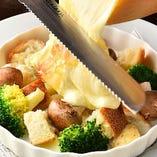 スイス産チーズをたっぷり使用!女性に人気のラクレットチーズ