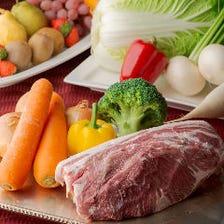 地元の食材や加賀野菜を味わう