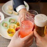 デートから女子会・職場宴会・同窓会など幅広いシーンに対応