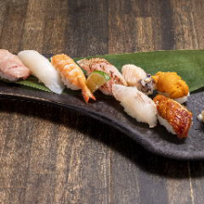 特上ネタのお寿司もご用意