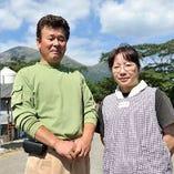 霧島鶏を生産されている川越さんご夫婦 お世話になっています